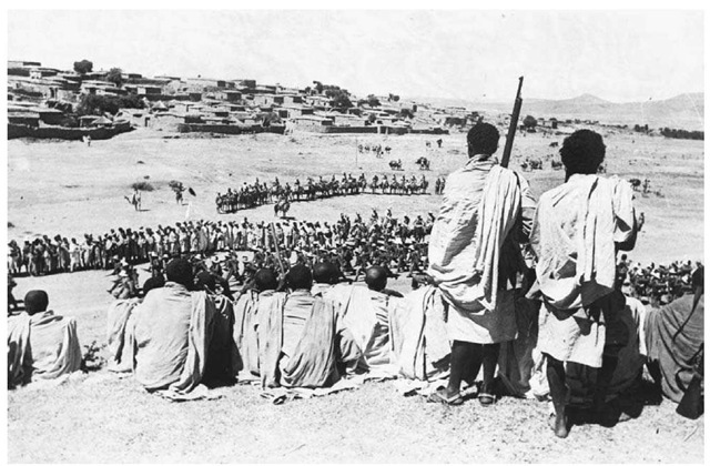 Ethiopian fighters | Ethiopia pictured